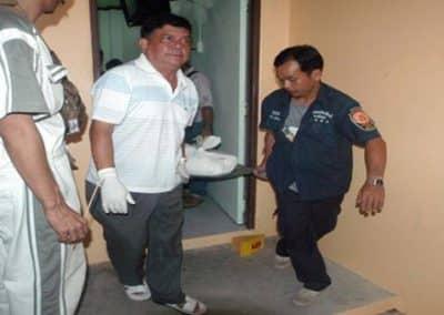 กองปราบบุกรวบหนุ่มฆ่าโหดครูอนุบาลหลังหนีคดี 7 ปี ก่อนจนมุมถูกจับได้ที่เมืองทองฯ