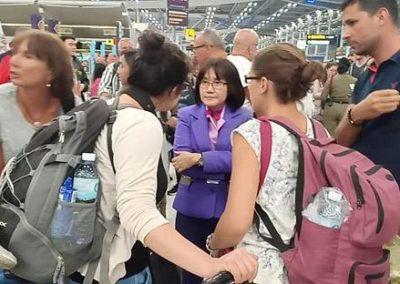 สุวรรณภูมิผู้โดยสารตกค้างอื้อรอประเมินเช้าจะบินไปโซนยุโรปได้อีกครั้ง