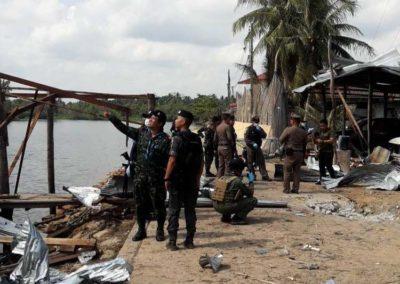 โจรใต้บุกถล่มฐานทหารตากใบเจ็บ3 ก่อนวางระเบิดสะพานเปิดทางหลบหนี