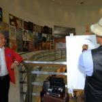เปิดนิทรรศการ ภาพวาด รำลึก หลวงพ่อคูณ ปริสุทโธ หอศิลปวัฒนธรรมแห่งกรุงเทพมหานคร