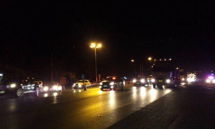 ถนนมิตรภาพ ปากช่อง-สีคิ้ว รถแน่น เร่งระบายรถ คาดรถมากถึงเวลา 02.00 น. คืนนี้