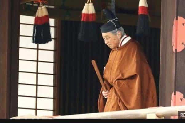 จักรพรรดิญี่ปุ่น พร้อมประกอบพิธีสละราชย์ของจักรพรรดิครั้งแรกในรอบ 200 ปีบ่ายวันนี้