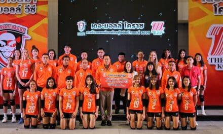 """โคราช ได้ฤกษ์เปิดตัวแมวปีศาจ """"แคทเดวิล"""" นำโดย """"ชัชชุอร โมกศรี"""" ตั้งเป้าแชมป์วอลเลย์บอลไทยลีกฤดูกาลใหม่ เดอะมอลล์ทุ่มสุดตัวดันนักตบสาวไทยสู่โอลิมปิก 2020"""