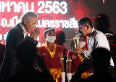 """""""สุวัจน์"""" เชื่อว่า กีฬามวยไทย เป็นหนึ่งช่องในการ กระตุ้นการท่องเที่ยว สร้างเศรษฐกิจไทย"""