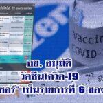 """อย. อนุมัติ """"ไฟเซอร์""""เป็นวัคซีนโควิด-19 รายการที่ 6 ของไทย"""
